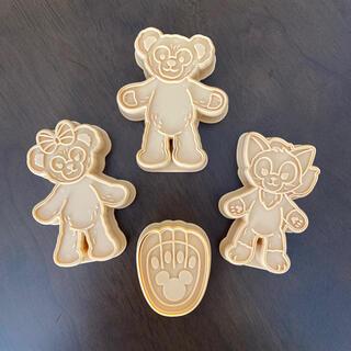 ディズニー(Disney)の【専用】ダッフィー クッキー抜き型(調理道具/製菓道具)