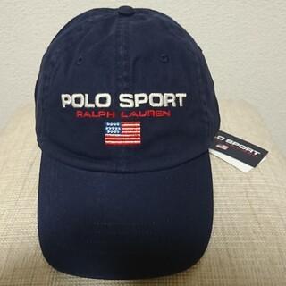 POLO RALPH LAUREN - 新品 polo sport cap カラー navy