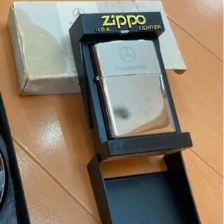 ジッポー(ZIPPO)のベンツ ノベルティ 未使用 zippo ジッポー  と 手帳らしきもの  (ノベルティグッズ)