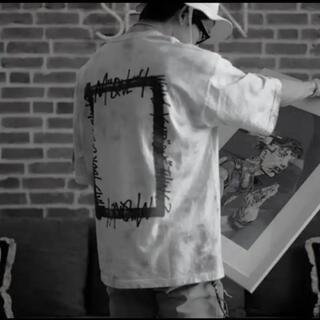 トゥエンティーフォーカラッツ(24karats)のStudio seven tye-dye T-shirt Lサイズ(Tシャツ/カットソー(半袖/袖なし))