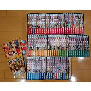 シュウエイシャ(集英社)のワンピース ONE PIECE 漫画 1~79巻 収納BOX 付き(全巻セット)
