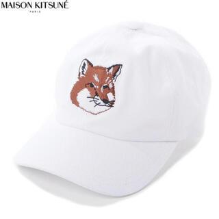 メゾンキツネ(MAISON KITSUNE')のメゾンキツネ 帽子 キャップ ✨新品・未開封✨(キャップ)