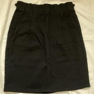 レトロガール(RETRO GIRL)のレトロガール 膝上スカート 黒(ひざ丈スカート)