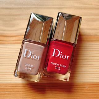 Christian Dior - ディオール ヴェルニ 413/769 2本セット