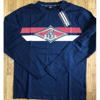 ベアー(Bear USA)のベアー・サーフボード ジャストロゴ・ヘリテイジ ロングTシャツ M【ネイビー】(Tシャツ/カットソー(七分/長袖))