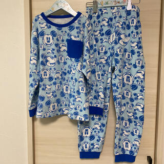 ディズニー(Disney)のふく67様専用★ 美品 ディズニー ミッキー 長袖 パジャマ 120 長ズボン(パジャマ)