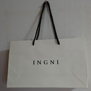 イング(INGNI)のINGNI ショッパー(ショップ袋)