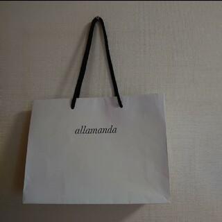 アラマンダ(allamanda)のアラマンダ ショッパー(ショップ袋)