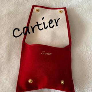 カルティエ(Cartier)のカルティエ ヴェロアケース(ポーチ)