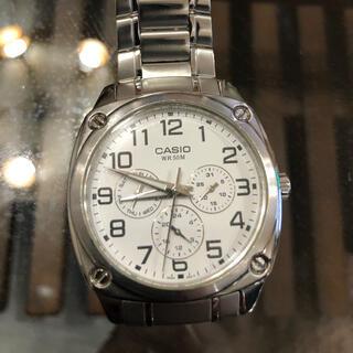 カシオ(CASIO)のカシオ 時計 クロノグラフ(腕時計(アナログ))