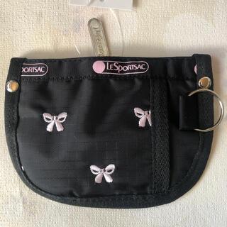レスポートサック(LeSportsac)のレスポートサック 刺繍コインケースポーチス 電車カードケースバタフライ(コインケース/小銭入れ)