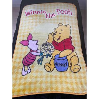 ディズニー(Disney)のくまのプーさん 毛布 ブランケット ディズニー Disney(毛布)