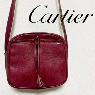 カルティエ(Cartier)のカルティエ ショルダーバッグ ヴィンテージ オールド バッグ 希少 美品(ショルダーバッグ)
