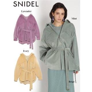 スナイデル(snidel)のSNIDEL  スナイデル コーデュロイジャケット ジャケット アウター(その他)