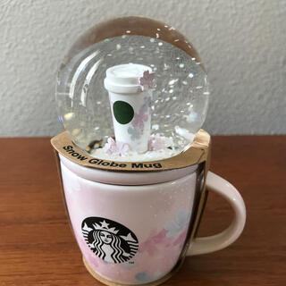 スターバックスコーヒー(Starbucks Coffee)のスタバ桜スノーグローブ&マグ(その他)