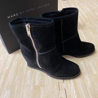 マークバイマークジェイコブス(MARC BY MARC JACOBS)のMARC BY MARK JACOBS黒ショートブーツ(ブーツ)