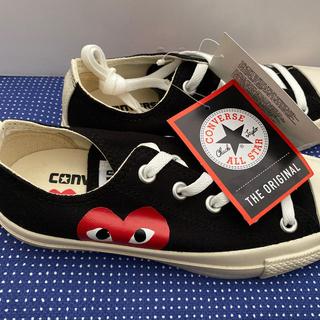 コムデギャルソン(COMME des GARCONS)の新品未使用 converse PLAY スニーカー 23(スニーカー)