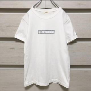 ロンハーマン(Ron Herman)の#Re:room リルーム フロントロゴ Tシャツ(Tシャツ/カットソー(半袖/袖なし))
