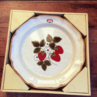 ミカサ(MIKASA)のヴィンテージ  mikasa ストロベリー 大皿 盛り皿(食器)