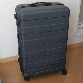ムジルシリョウヒン(MUJI (無印良品))の無印スーツケース(63L/ダークグレー)(旅行用品)
