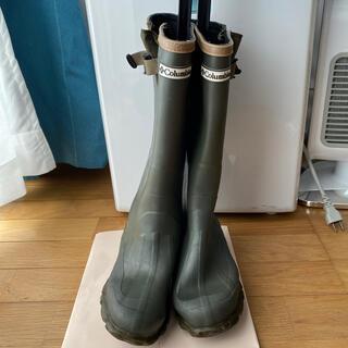 コロンビア(Columbia)のColumbia コロンビア ★レインブーツ 長靴 スノーブーツ★24センチ(レインブーツ/長靴)