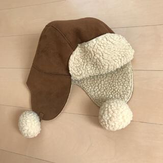 ベビーギャップ(babyGAP)のbaby GAP 耳あて付き 帽子(帽子)