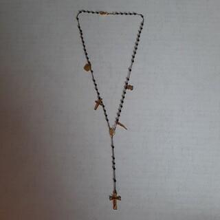 ドルチェアンドガッバーナ(DOLCE&GABBANA)のDOLCE&GABBANA  ロザリオ クロス 十字架(ネックレス)