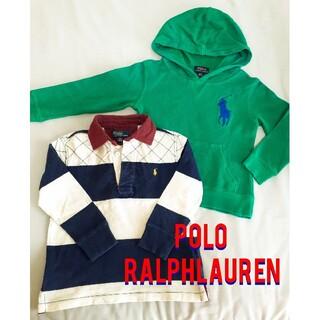ポロラルフローレン(POLO RALPH LAUREN)のラルフローレン■長袖カットソー2点セット■110センチ RALPH LAUREN(Tシャツ/カットソー)