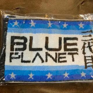 サンダイメジェイソウルブラザーズ(三代目 J Soul Brothers)の新品未使用!三代目JSB Blue Planet 2015 マフラータオル(タオル)