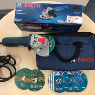 ボッシュ(BOSCH)のボッシュ GWS750-125【X-lock】サービスセット(工具)