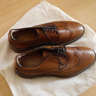 ザラ(ZARA)のZARA 革靴 ビジネスシューズ スウェードシューズ ブラウン(ドレス/ビジネス)