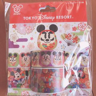 ディズニー(Disney)のディズニーリゾート マスキングテープ(テープ/マスキングテープ)