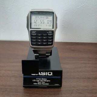 カシオ(CASIO)のデータバンク(シルバー)(腕時計(デジタル))