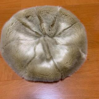 サマンサモスモス(SM2)の⭐️ ファー ベレー帽(ハンチング/ベレー帽)