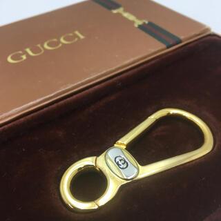 Gucci - 希少 箱付き オールドグッチ カラビナ キーホルダー gucci ヴィンテージ
