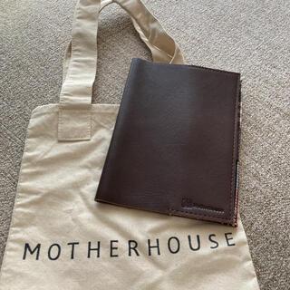 マザーハウス(MOTHERHOUSE)のマザーハウス 革製ブックカバー ショッパー付(ブックカバー)