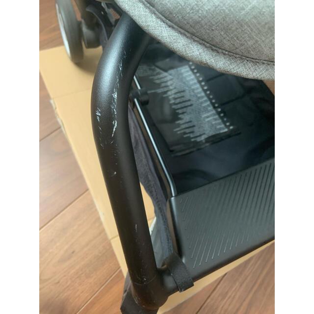 cybex(サイベックス)のcybex  EEZY S  バンパーバー付き(イージーS マンハッタングレー) キッズ/ベビー/マタニティの外出/移動用品(ベビーカー/バギー)の商品写真