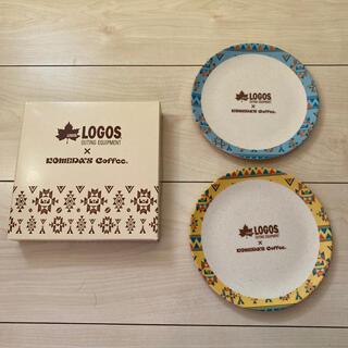 ロゴス(LOGOS)のコメダ×LOGOS バンブーファイバープレート(食器)