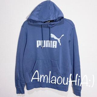 PUMA - PUMA ネイビーブルー パーカー