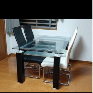 ニトリ(ニトリ)のニトリ ダイニングテーブル5点セット(ダイニングテーブル)