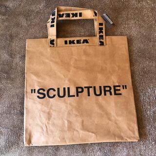 イケア(IKEA)のIKEA✖️ヴァージルアブローショップバッグ(トートバッグ)