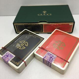 Gucci - 未使用品 オールドグッチ トランプ 2組セット ヴィンテージ GUCCI 未開封