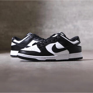 ナイキ(NIKE)の【win様】NIKE DUNK LOW RETRO Black White(スニーカー)