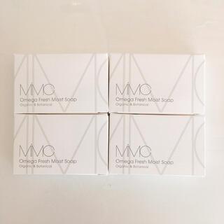 エムアイエムシー(MiMC)のオメガオメガフレッシュモイストソープ フレッシュローズウッド×4(洗顔料)