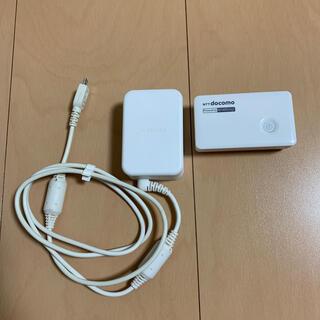 エヌティティドコモ(NTTdocomo)のNTTdocomo  ポケットチャージャー(バッテリー/充電器)