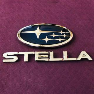 スバル(スバル)の【値下げ】スバル純正エンブレム 六連星 & ステラ(車外アクセサリ)