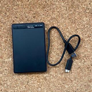アイオーデータ(IODATA)のI・O DATA ポータブルHDD カクうすLiite 1TB ブルー(PC周辺機器)