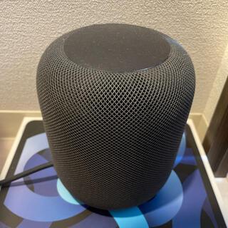 アップル(Apple)のHomePod スペースグレイ(スピーカー)