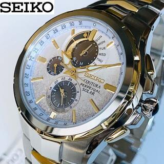 セイコー(SEIKO)の【再入荷】セイコーSEIKO 男性メンズ コーチュラ 腕時計 ソーラー(腕時計(アナログ))