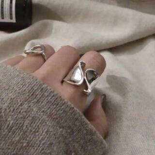 ビューティアンドユースユナイテッドアローズ(BEAUTY&YOUTH UNITED ARROWS)の大人気なため再入荷!tear drop ring silver925(リング(指輪))